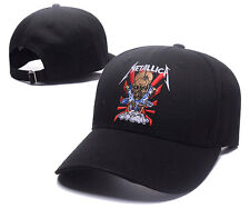 Black METALLICA ROCK HEAVY METAL Baseball Cap