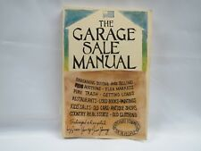 1973 THE GARAGE SALE MANUAL by Jean and Jim Young Praeger Publishers 224 Pages