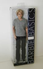 Barbie Basics Ken Doll Blonde Jeans Model 16 Collection 002 Black Label NRFB