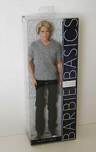 Barbie Basics Ken Doll Blonde Jeans Model 16 Collection 002 Black Label NRFB