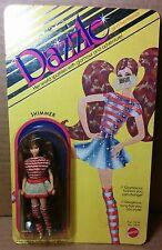 """Mattel Dazzle Dolls Shimmer MIP dolls 4½"""" Kenner Glamour Gals Disco Mini Barbie"""