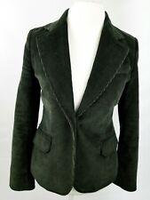 Womens Nautica Brown Long Sleeve One Button Blazer Size 4