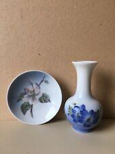 Vintage Royal Copenhagen Vase & Pin Dish