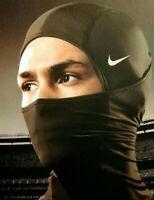 Nike Pro Hyperwarm Hood Neck Warmer Baraclava Face Mask Winter Cap Snood Running
