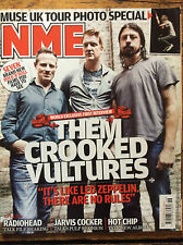 NME 14/11/09 Them Crooked Vultures cover, Teitur, Biffy Clyro