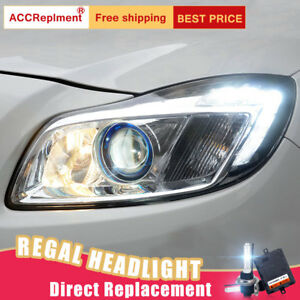 For Buick regal Headlights assembly xenon Lens Projector 11-13 (Halogen upgrade)