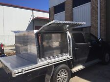 Toyota Hilux Part Tray Aluminium Canopy - 1200mm Long x 1770mm wide x 860mm high