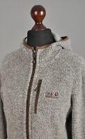 Women's JACK WOLFSKIN Nanuk 3000 Fleece Jacket Polyester Full Zip Hooded Size L