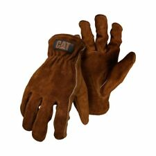 Caterpillar CAT Leather Rigger Work Safety Truckie Glove Package Deals Cheap Lge X 2 Brown M P012200.600