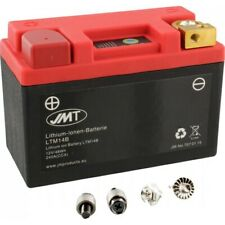 Motorradbatterie LTM14B JMT motorcycle battery lithium-ionen with anz Sportcity