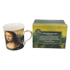 LP92483- La Collection Leonardo Da Vinci Mona Lisa Tasse En Porcelaine Fine