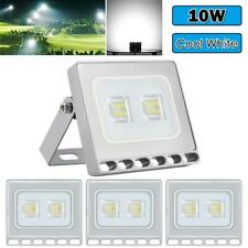 4X 10W LED Flood Light Cool White Outdoor Garden Yard Lamp Security Floodlight