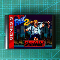 Comix Zone Sketch Turner in Street Of Rage 2