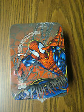 Spider-Man: 3 Embossed Metal Collector Cards in Tin -  Sealed 1996