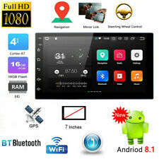 7''Android 8.1 GPS Player WiFi Car Stereo MP5 Player FM Radio Bluetooth US STOCK