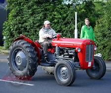 Massey Ferguson 35X Die-cast model tractor Ertl 1-16