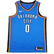 3b207c5d5a2a Nike Dri-Fit NBA Oklahoma City Thunder Russell Westbrook  0 Swingman Icon  Jersey