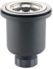 KRAUS Basket Strainer Stainless Steel Kitchen Sink Food Drain Clog Stopper Catch