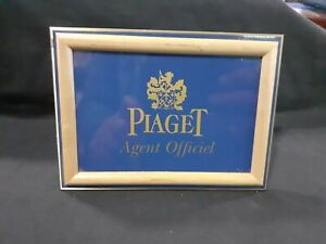 PIAGET AGENT OFICIAL WATCHES ADVERTISING RARE GOOD CONDITION ORIGINAL