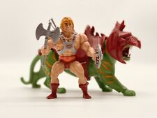 MOTU He-man Battle Cat Masters of the Universe MOTUC Vintage Lot Complete Taiwan