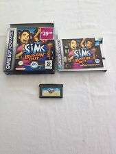 NINTENDO GAMEBOY ADVANCE GAME - THE SIMS Bustin Out