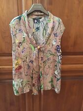 New Gucci Floral Silk Blouse Shirt Size 44 $1890