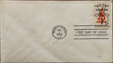 Crusade Against Cancer Washington D. C. 1st April 1965 First Day Cover