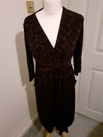Laura Ashley beautiful black dress size 14 UK in excellent condition