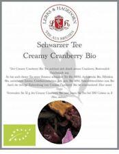 Schwarzer Tee Creamy Cranberry Bio 1 KG