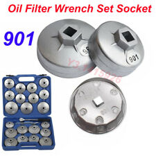 901(65mm) Cap Type Oil Filter Wrench Set Socket Automotive Removal Kit Hand Tool