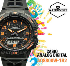 Casio Analog Digital Tough Solar Watch AQS800W-1B2 AQ-S800W-1B2