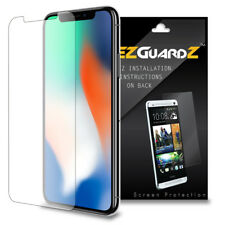 4X EZguardz New Case Friendly Screen Protector Cover HD 4X For Apple iPhone X