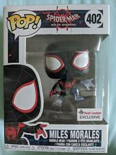 Spider Man Miles Morales Disappearing Funko POP 402 NEW Foot Locker Exclusive