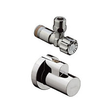 Hansgrohe angle valve chrome with slipcase 13954000