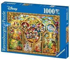15266 Ravensburger The Best Disney Themes 1000pc Adult Jigsaw Puzzle