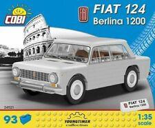 Cobi - Fiat 124 Berline 1200 93 Pièce Brick Bloc Bâtiment Set COB24521