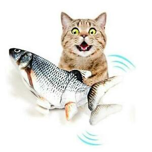 Cat Toy Electric Flopping Fish Simulation Interactive Pet Toy