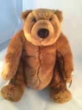 New With Tags Dakin Jelly Roll Brown Beary Faithful Teddy Bear 11 Inch ~ Super