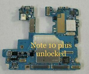 OEM Samsung Galaxy Note 10 Plus 256 GB  AT&T unlocked Motherboard  Logicboard