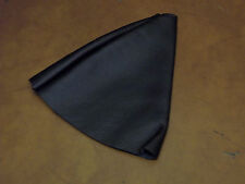 MGB/C/BGT/V8 4 Syncro black leather gearstick gaiter.