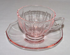 "PERFECT Vintage Pink ""ADDIE/TWELVE POINT"" Cup & Saucer - 5 Available!!"