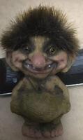 Original Vintage Norwegian Troll Figurine / Ornament BY NYform with Tag - 1999