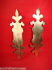Antique Platinum Bronze X 2/Keyhole Door