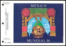 MEXICO MONACO CEF 1986 FUßBALL FOOTBALL FUTBOL SOCCER SPECIAL EDITION LTD. z2220