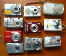 10 x digital cameras for spares or repair - Sony, Samsung, Olympus, Canon etc