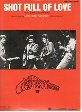 "THE NITTY GRITTY DIRT BAND ""SHOT FULL OF LOVE"" SHEET MUSIC-PIANO/V/GUITAR-NEW!"