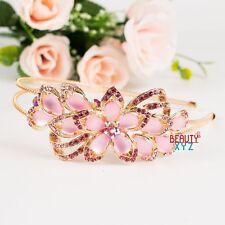 New woman crystal metal flowers headband hair pieces by beautyxyz