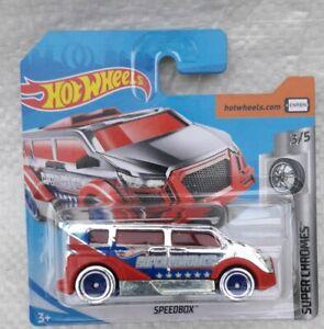 Hot wheels . Super chromes speedbox.   Neuf en boite