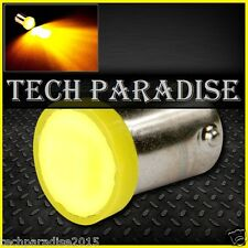2x Ampoule BA9S T4W T2.3W LED COB 3W 12 Chips Jaune Yellow veilleuse lampe light