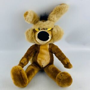 """Wile E. Coyote Plush 1993 24K Mighty Star 15"""" Stuffed Animal Toy Looney Tunes"""